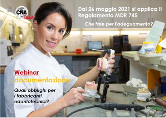Webinar – MDR: Gli obblighi per i Laboratori Odontotecnici
