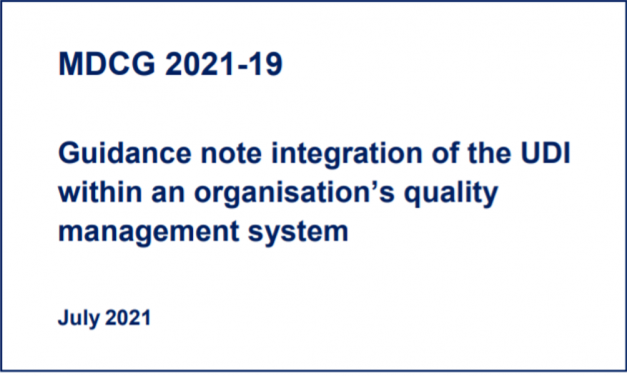 Guida MDCG per l'implementazione del codice UDI nel QMS aziendale